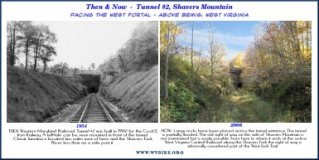 Western Maryland Railway - Tunnel #2 - above Bemis, West Virginia